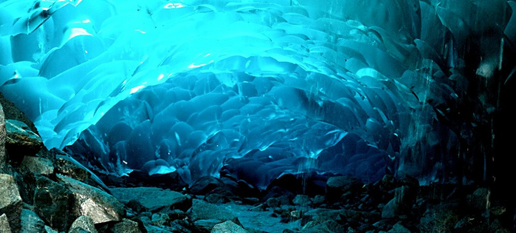 Alaska's Glacial Blue Underworld